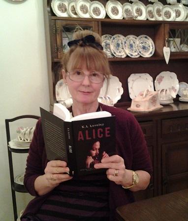 Publication date Alice by K.L Loveley