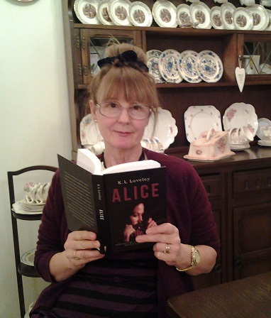 Publication date Alice by K.L Loveley