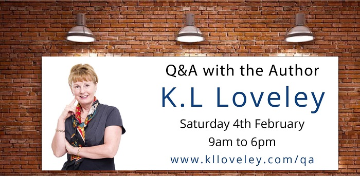 Online live Q&A session with the author K.L Loveley