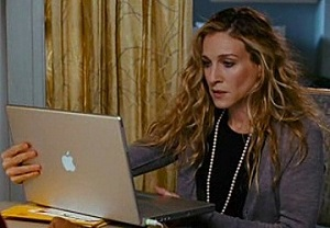 Sarah Jessica Parker aka Carrie Bradshaw in Sex and the City