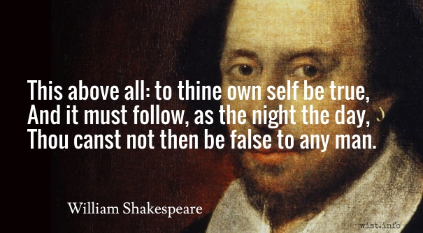 Shakespeare quote Hamlet