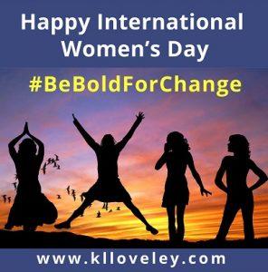 International women's day - KL Loveley