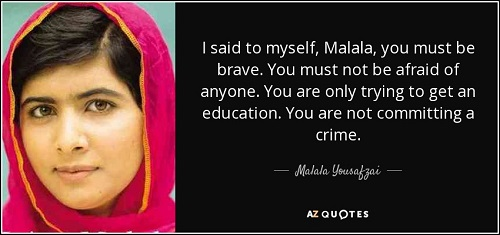 International woman's day - malala yousafzai