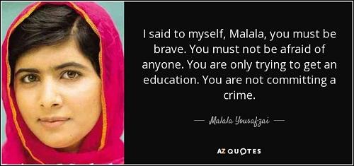 International woman's day - malala yousafzai