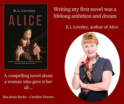 Alice Blog Tour Day 1 - Caroline Vincent Bits About Books