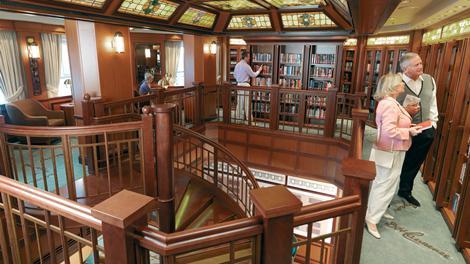Queen Victoria library