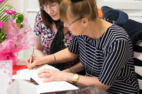 Alice book launch - book signing 3