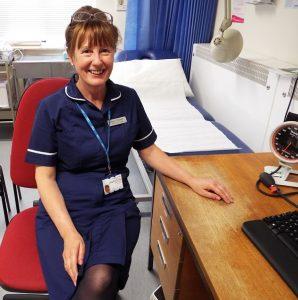 K.L Loveley in her nurses uniform - 2017